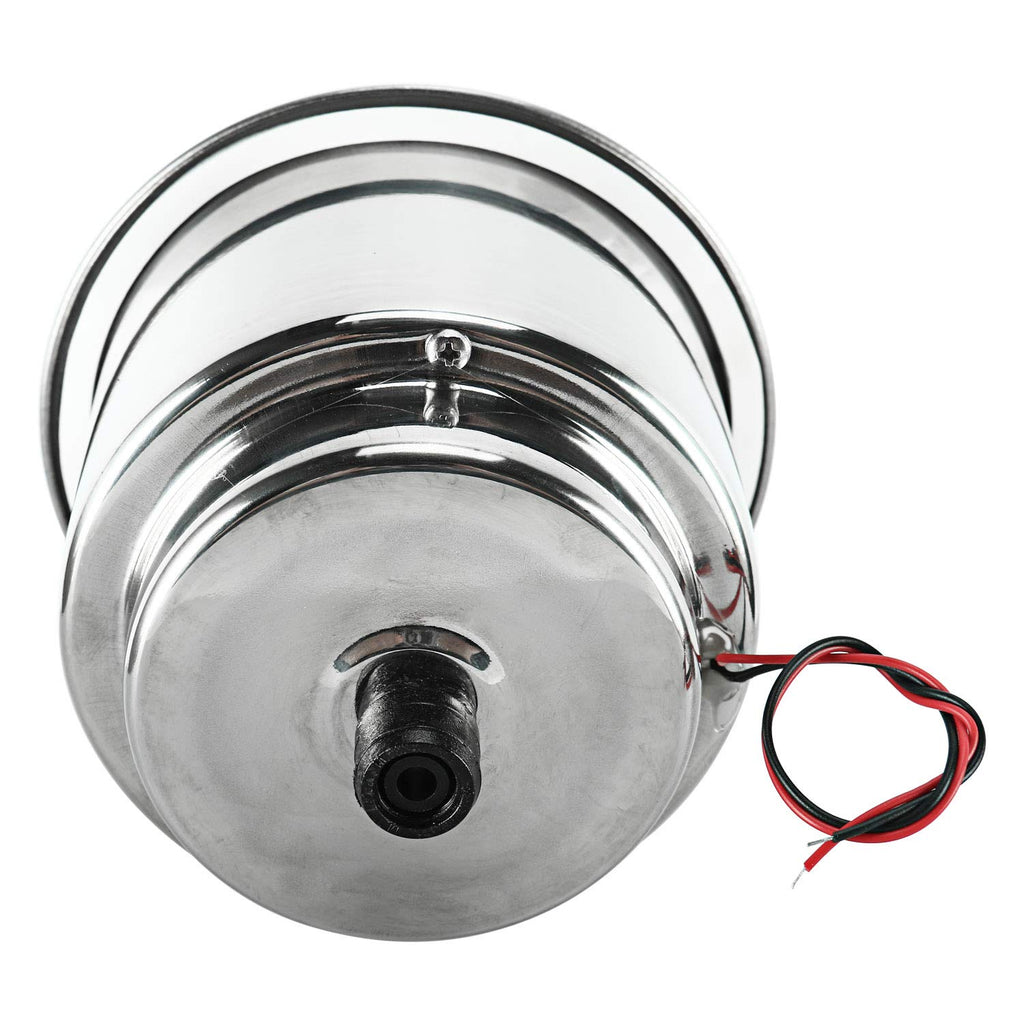 Amarine Made 4 PCS 3 LED Red Stainless Steel Cup Drink Holder with Drain & LED Red Marine Boat Rv Camper