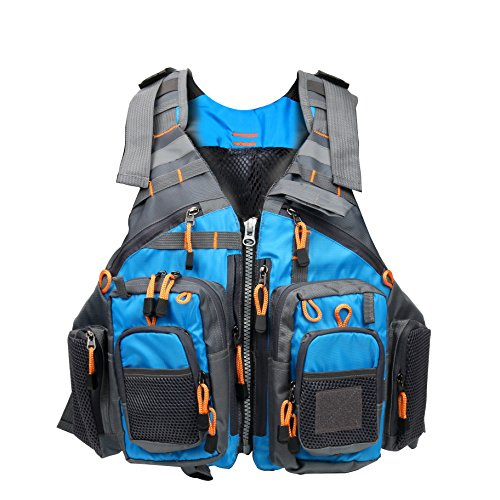 Amarine Made Fly Fishing Vest Pack (Fishing Vest/Fishing Sling Pack/Fishing Backpack)