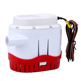 Amarine Made Automatic Submersible Boat Bilge Water Pump 12v 2000gph Auto with Built-in Float Switch