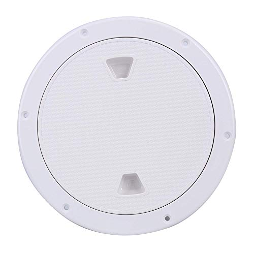 "Amarine Made 6"" Boat Round Non Slip Inspection Hatch with Detachable Cover 198mm"