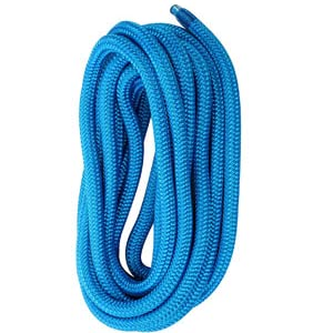 Amarine Made 5/8 Inch 25 FT Double Braid Nylon Dockline,Mooring Rope Double Braided Dock Line