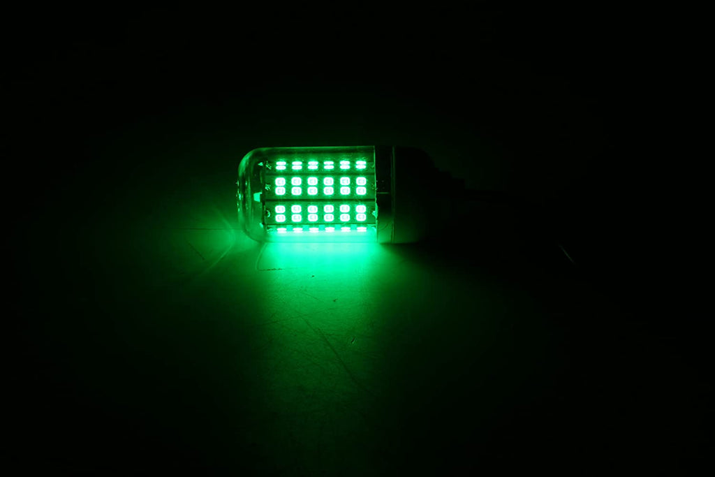 Amarine Made 12V 15W 108LED Underwater Night Fishing Light (Green)