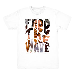 FREE THE WAVE PHOTO (White)