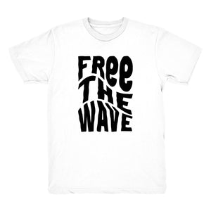 FREE THE WAVE (White)