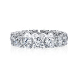 Platinum and Diamond Eternity Band