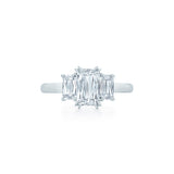 Kwiat Platinum and Ashoka Diamond Ring