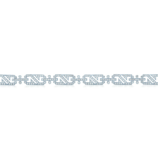 Kwiat White Gold and Diamond Splendor Bracelet
