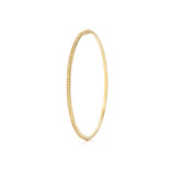 18k Yellow Gold and Yellow Sapphire Bangle