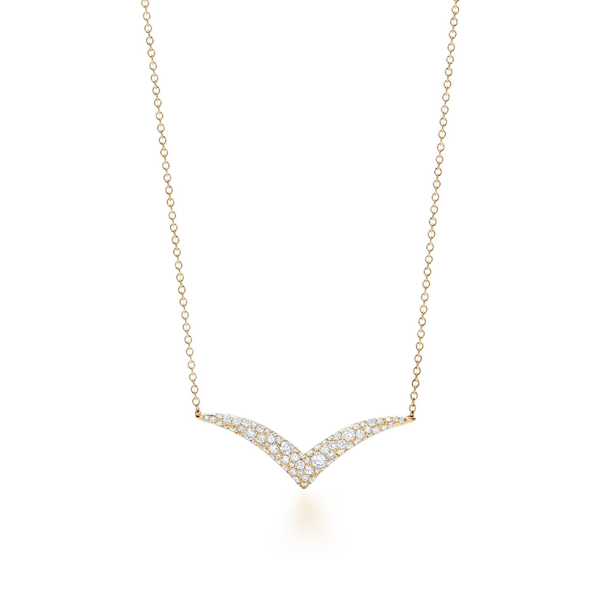 18k Yellow Gold Kwiat Diamond Tempo Pendant