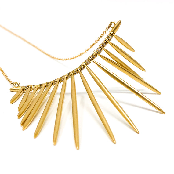 "18kt Gold and Diamond ""Fringe"" Necklace"