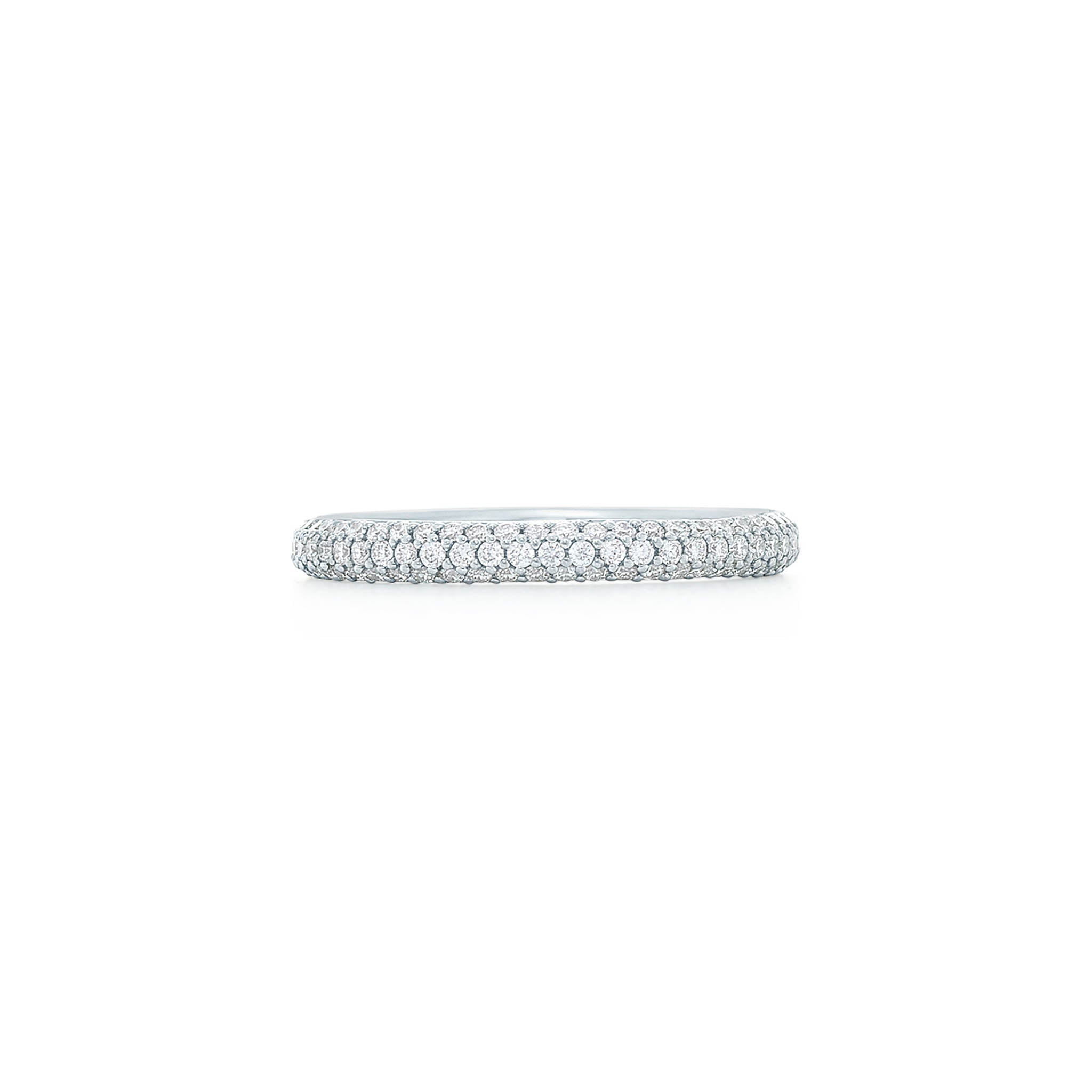 18k White Gold Kwiat Moonlight Wedding Band