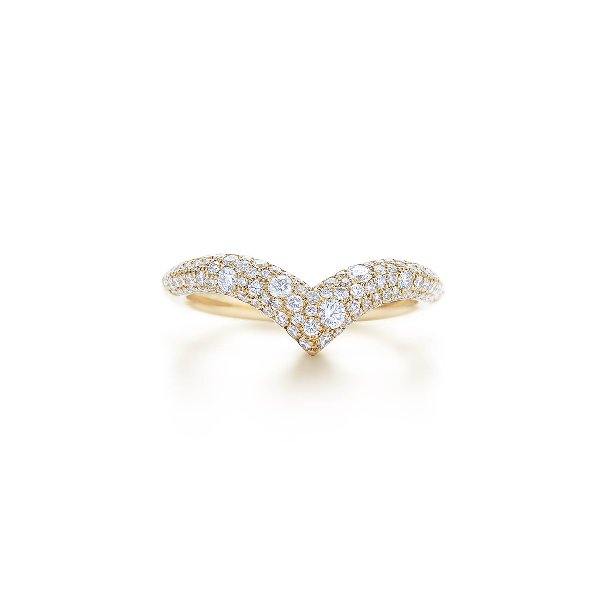 18k Yellow Gold Kwiat Tempo Ring