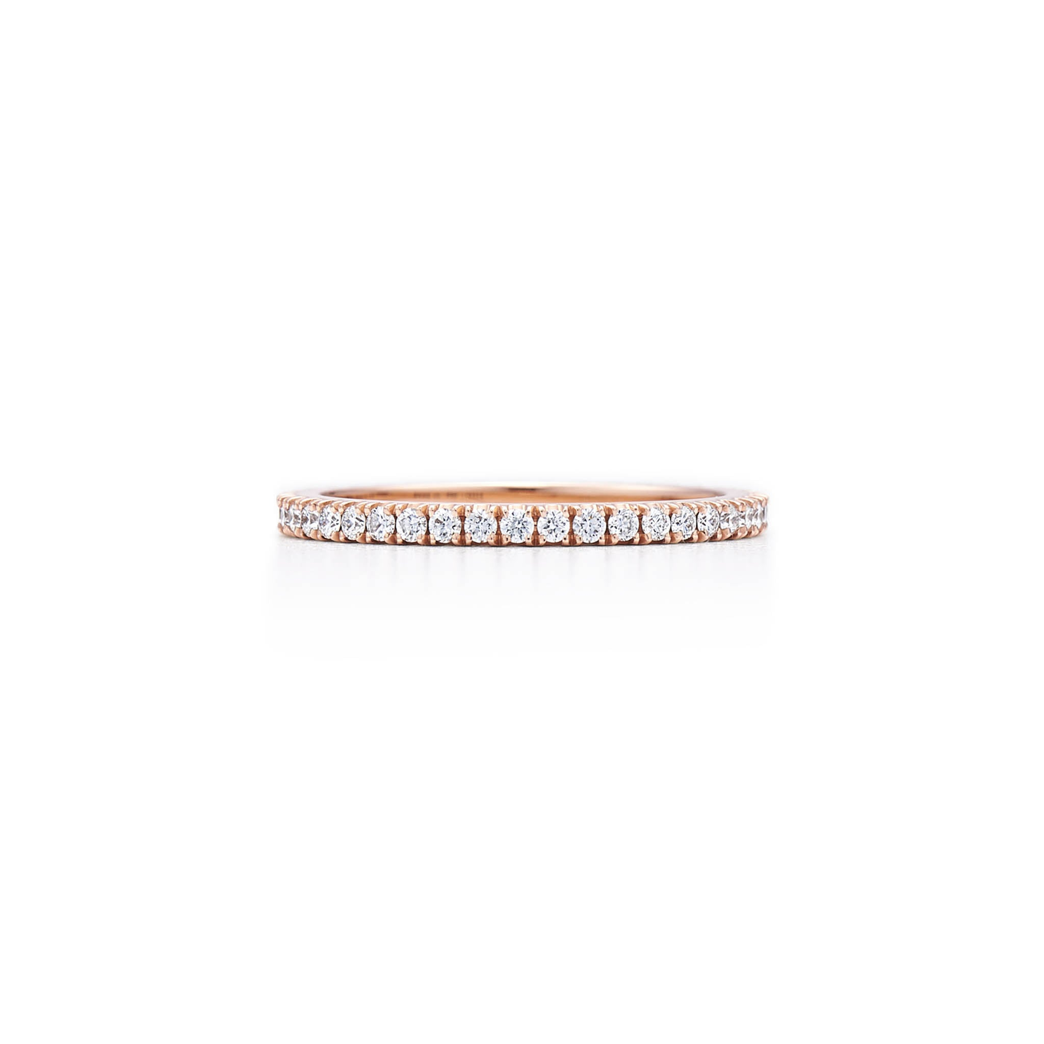 18k Rose Gold Kwiat Diamond Eternity Band