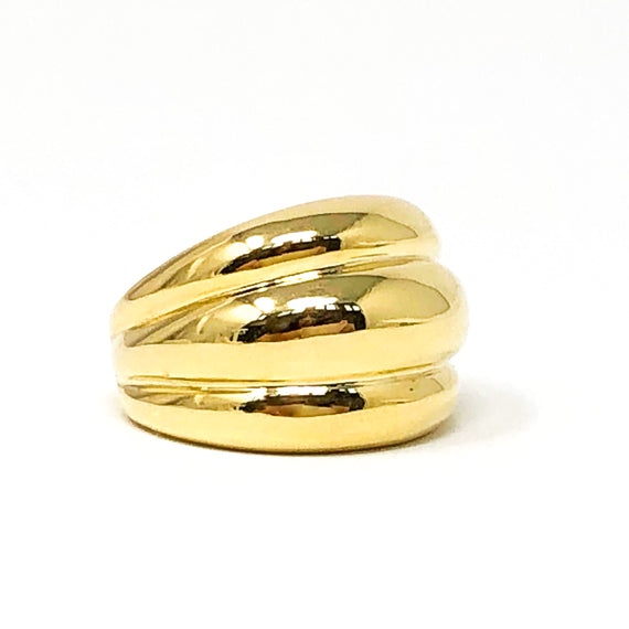 18kt Gold Dome Ring