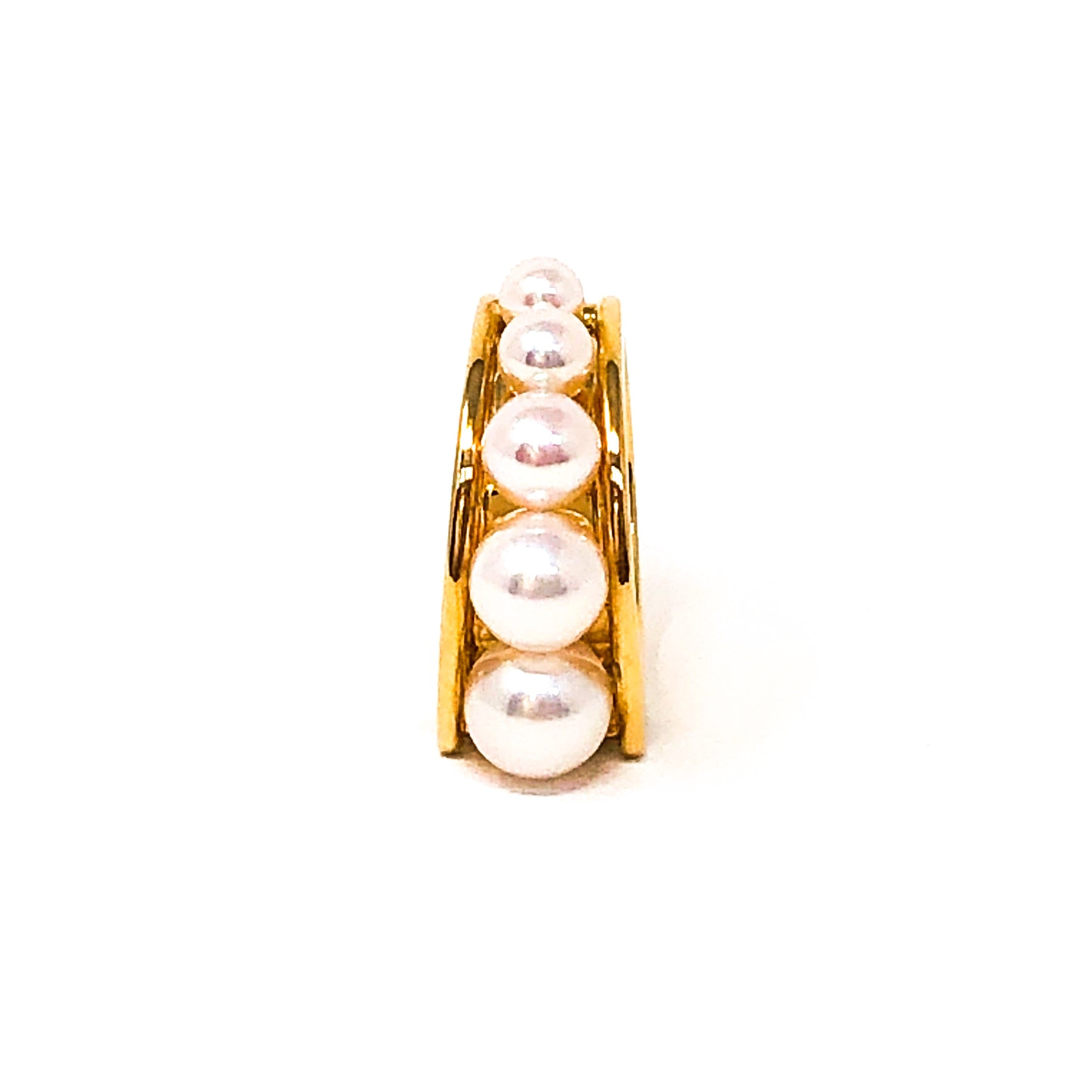 18kt Akoya Cultured Pearl Ring