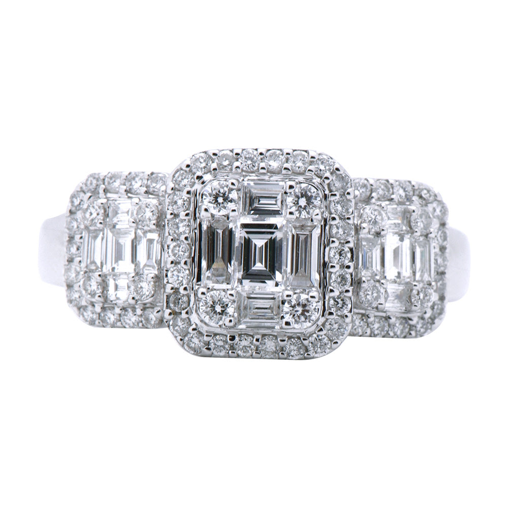 659d82307 18k White Gold and Diamond