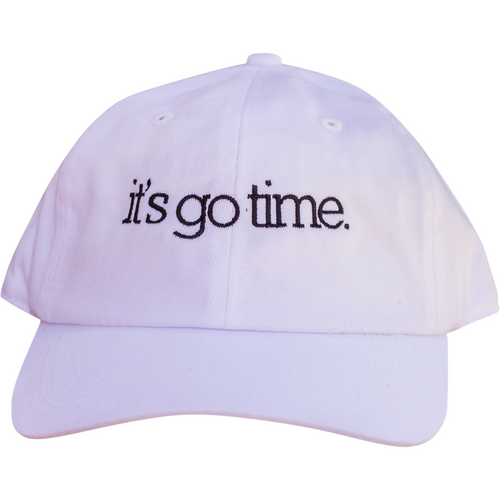 it's go time | Dad Hat
