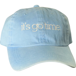 it's go time - Dad Hat - SUMMER SALE 20% OFF