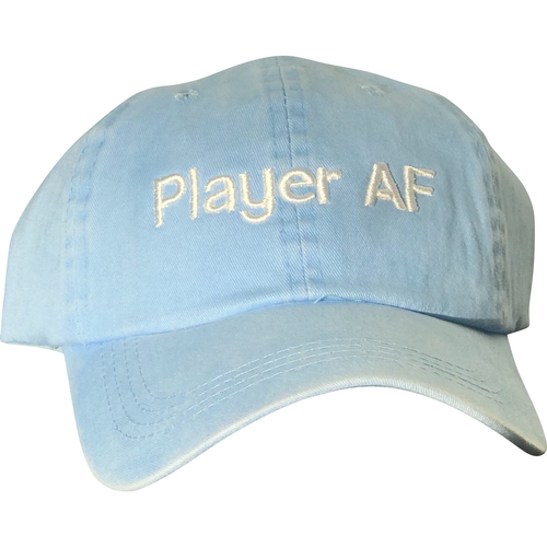 Player AF Denim Wash Dad Hat