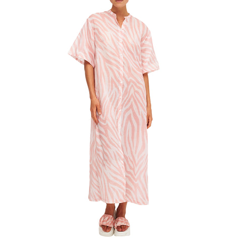 POOL SHARK PINK MAXI DRESS