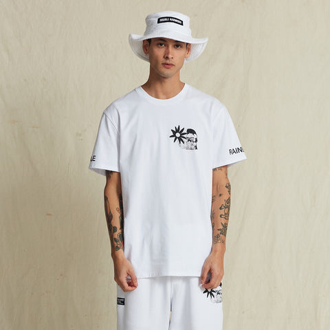 ALOHA LORD WHITE ICE TEE