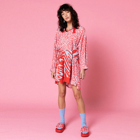 LIGER SHIRT DRESS