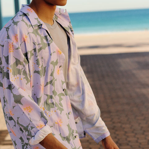 CLOUD CONTROL LAVENDER LONG SLEEVE SHIRT
