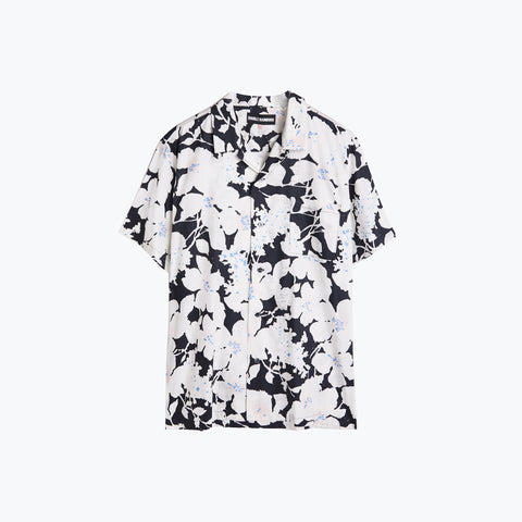 CLOUD CONTROL WHITE HAWAIIAN SHIRT