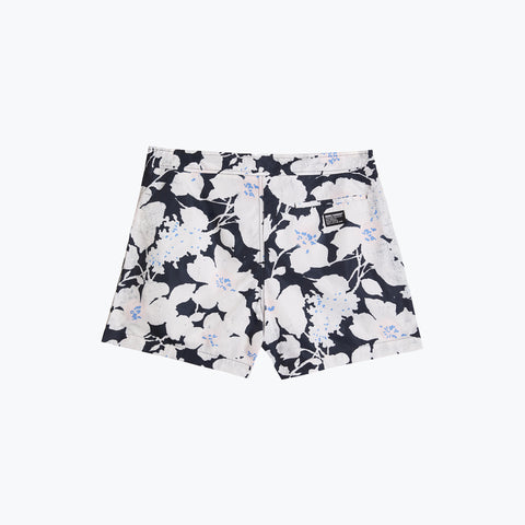 CLOUD CONTROL WHITE POOL SHARK SWIM SHORT