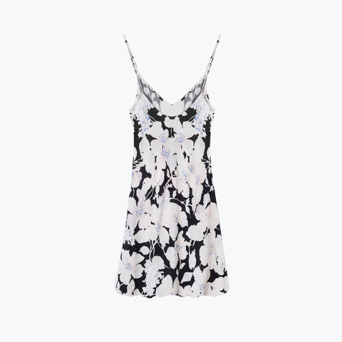 CLOUD CONTROL WHITE SLOW LANE SLIP DRESS