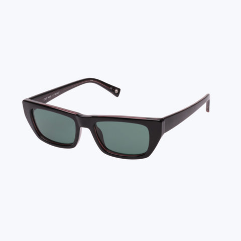 COLD WAVE BLACK GREEN SUNGLASSES