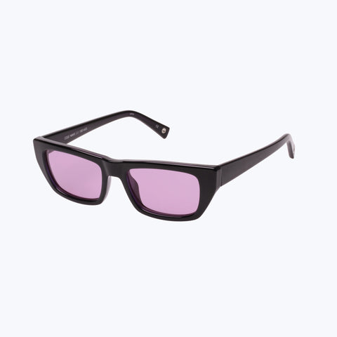 COLD WAVE BLACK VIOLET SUNGLASSES