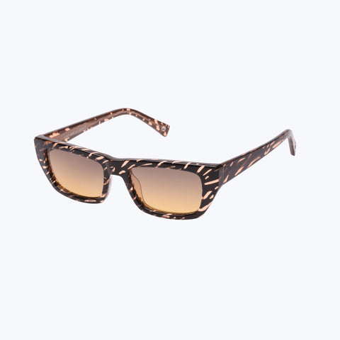 COLD WAVE PEACH RIPPLE SUNGLASSES