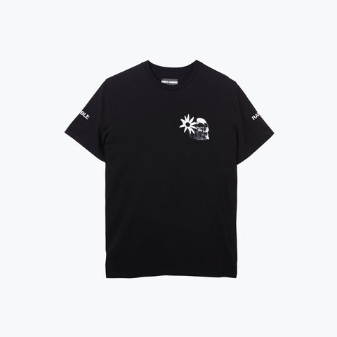 BLACK ALOHA LORD ICE TEE