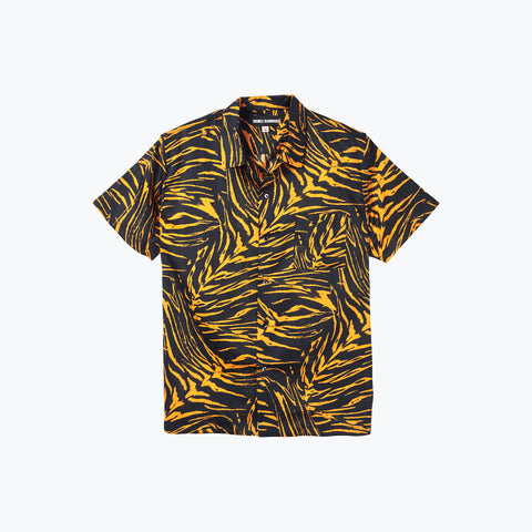 TIGER BAE ORANGE HAWAIIAN SHIRT