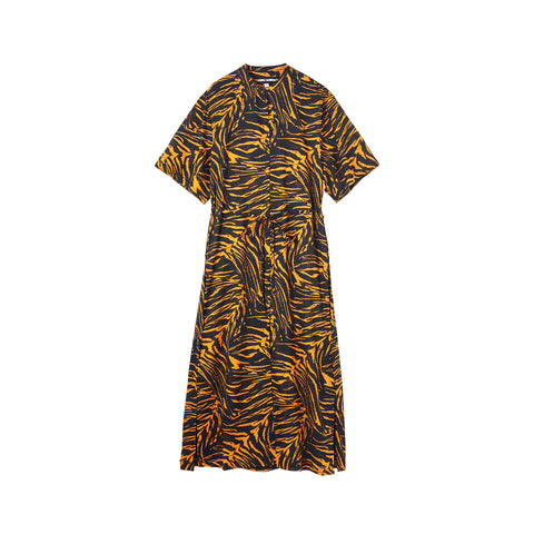 TIGER BAE MAXI SHIRT DRESS