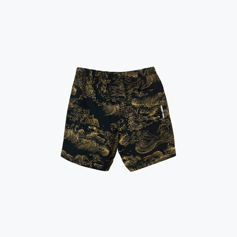 UUAVES BLACK NIGHT SWIM SHORT