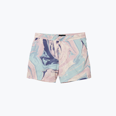 HONEY POT PASTEL POOL SHARK SWIM SHORT