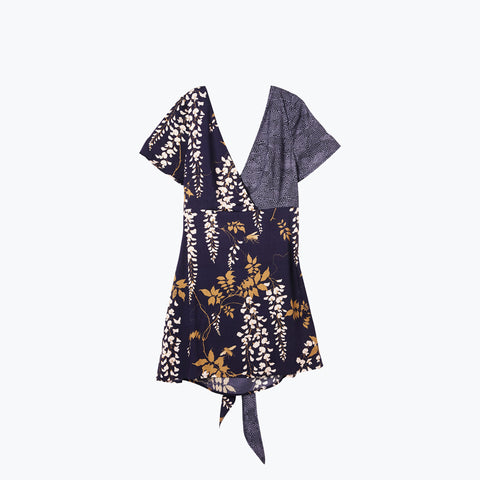 OVER THE FALLS ASTRAL TIE BACK DRESS