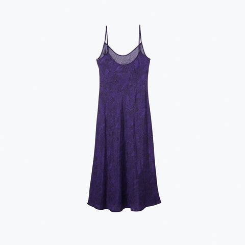 LOUNGE LIZARD PURPLE LONG SLIP