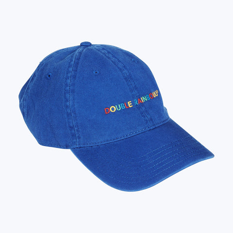 BLUE RAINBOUU LOGO CAP