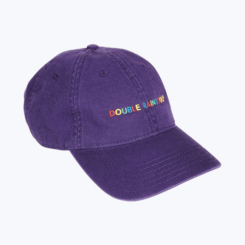 PURPLE RAINBOUU LOGO CAP
