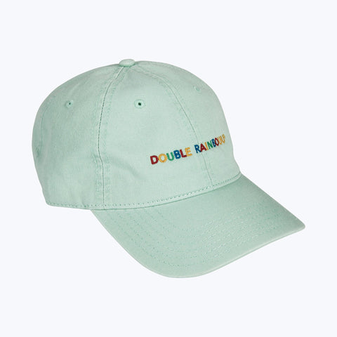 MINT RAINBOUU LOGO CAP