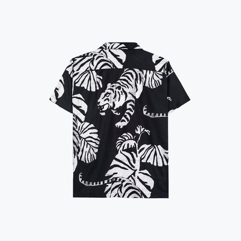 NIGHTCRAWLER BLACK HAWAIIAN SHIRT
