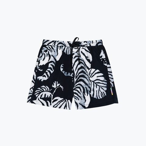 NIGHTCRAWLER BLACK NIGHT SWIM SHORT