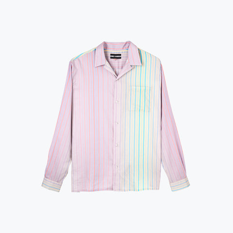 CANDY GRAD STRIPE LONG SLEEVE SHIRT