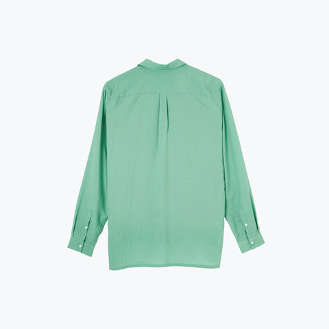 SEA GREEN LONG SLEEVE SHIRT