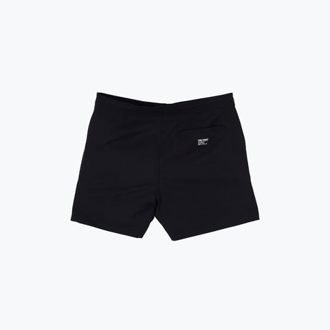 BLACK MULTI POOL SHARK SWIM SHORT