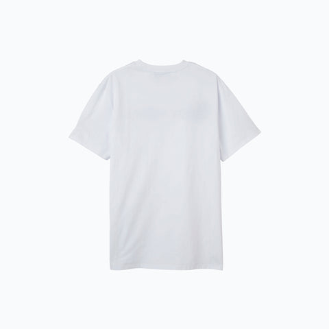 WHITE LOGO PATCH ICE TEE