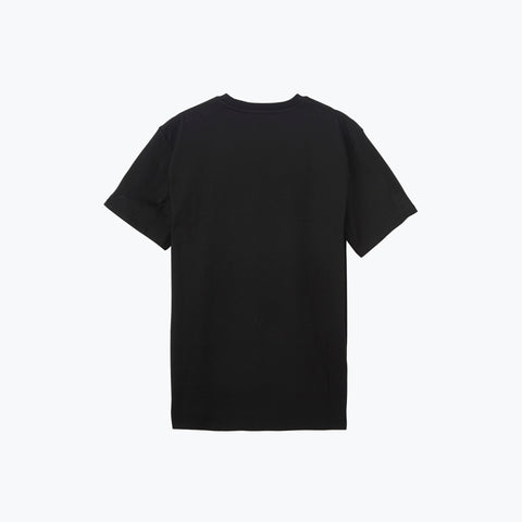 BLACK LOGO PATCH ICE TEE